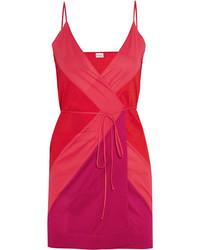 Vestido de tirantes de seda rojo de Eres
