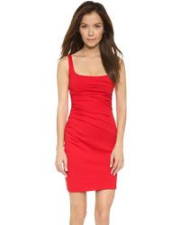 Vestido de tirantes rojo de Susana Monaco