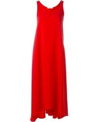 Vestido de tirantes rojo