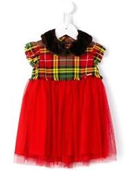 Vestido de tul rojo de Junior Gaultier