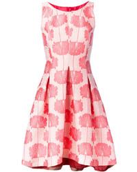 Vestido de vuelo con print de flores rosa de P.A.R.O.S.H.