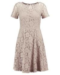 Vestido de vuelo de encaje gris de Dorothy Perkins