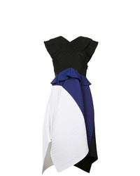 Vestido de vuelo en multicolor de Proenza Schouler