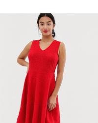 Vestido de vuelo rojo de Y.A.S Petite