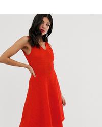 Vestido de vuelo rojo de Y.A.S Tall