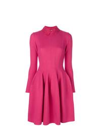 Vestido de vuelo rosa de Ermanno Scervino