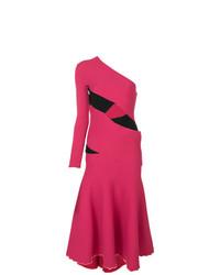 Vestido de vuelo rosa de Proenza Schouler
