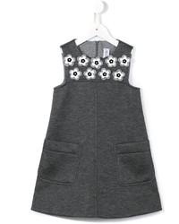 Vestido en gris oscuro de Simonetta