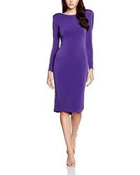 Vestido en violeta de Cho Atelier