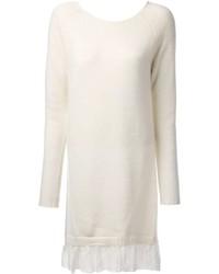 Vestido jersey blanco de Blugirl