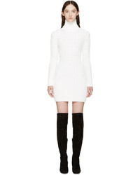 Vestido jersey blanco de Calvin Klein