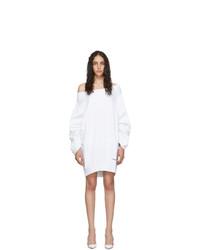 Vestido jersey blanco de Dsquared2