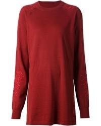 Vestido jersey burdeos de Maison Margiela