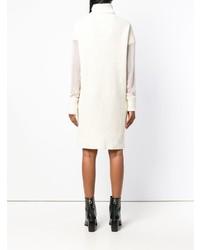 Vestido jersey de punto blanco de Maison Margiela  dónde comprar y ... e008ce11b773