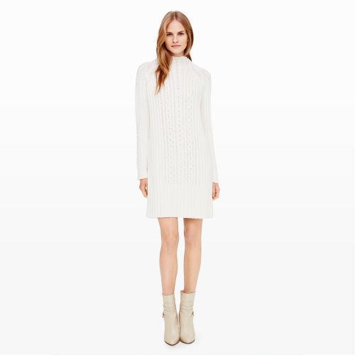 Vestido jersey de punto blanco de Club Monaco  dónde comprar y cómo ... fd09a3781c87
