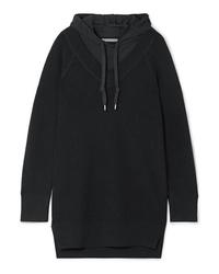 Vestido jersey de punto negro de T by Alexander Wang