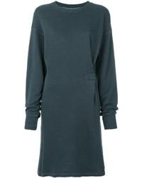 Vestido jersey en verde azulado de Etoile Isabel Marant