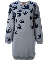 Vestido Jersey Gris de McQ by Alexander McQueen