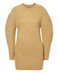 Vestido jersey marrón claro de Isabel Marant
