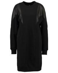 Vestido Jersey Negro de Diesel