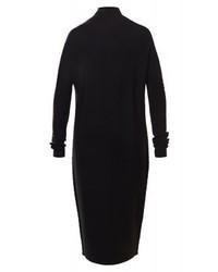 Vestido Jersey Negro de Drykorn