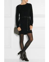 Vestido jersey negro de Helmut Lang