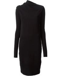 Vestido jersey negro de J.W.Anderson