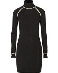 Vestido jersey negro de Karl Lagerfeld