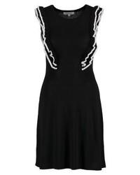 Vestido Jersey Negro de Morgan