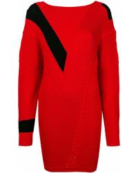 Vestido jersey rojo de Rag & Bone