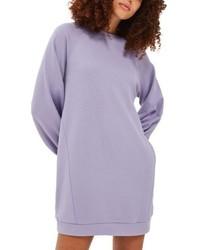 Vestido jersey violeta claro