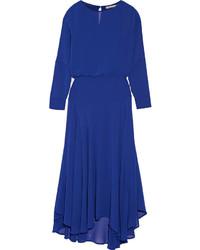 Comprar un vestido largo de gasa azul  elegir vestidos largos de ... 0173991cea4c