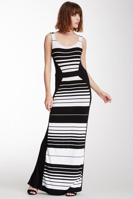 Imagenes de vestidos largos a rayas