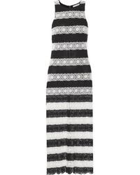 f3476e63e Comprar un vestido largo de rayas horizontales negro: elegir ...