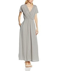 Vestido largo gris de HotSquash