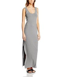 Vestido largo gris de Vila