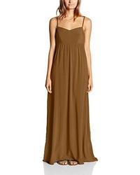 Vestido largo marrón de Only
