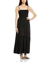 Vestido largo negro de Esprit
