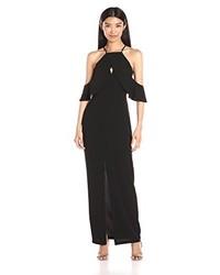 Vestido largo negro de Keepsake