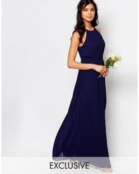 2202ae12b Comprar un vestido largo plisado de Asos  elegir vestidos largos ...