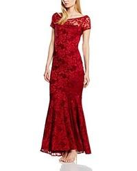Vestido largo rojo de HotSquash