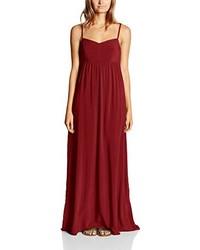 Vestido largo rojo de Only