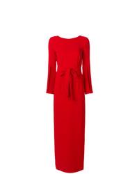 Vestido largo rojo de P.A.R.O.S.H.