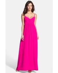 Vestido largo rosa original 8517301