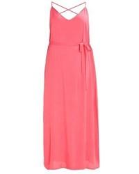 Vestido Largo Rosa de New Look