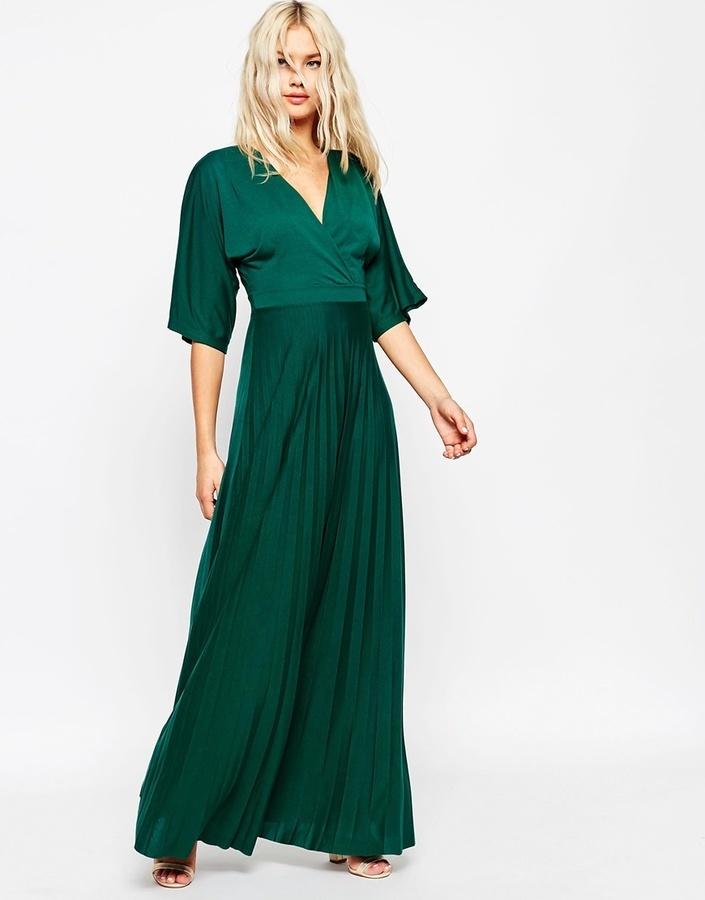 Vestido verde asos