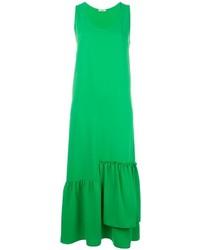 Vestido largo verde de P.A.R.O.S.H.