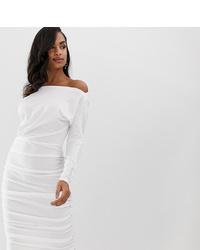 Vestido midi blanco de Scarlet Rocks