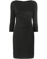Vestido midi en gris oscuro de Ralph Lauren