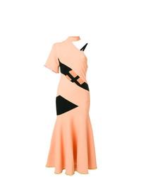 Vestido midi naranja de Proenza Schouler